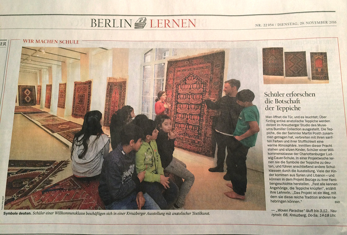press article of the newspaper Tagesspiegel