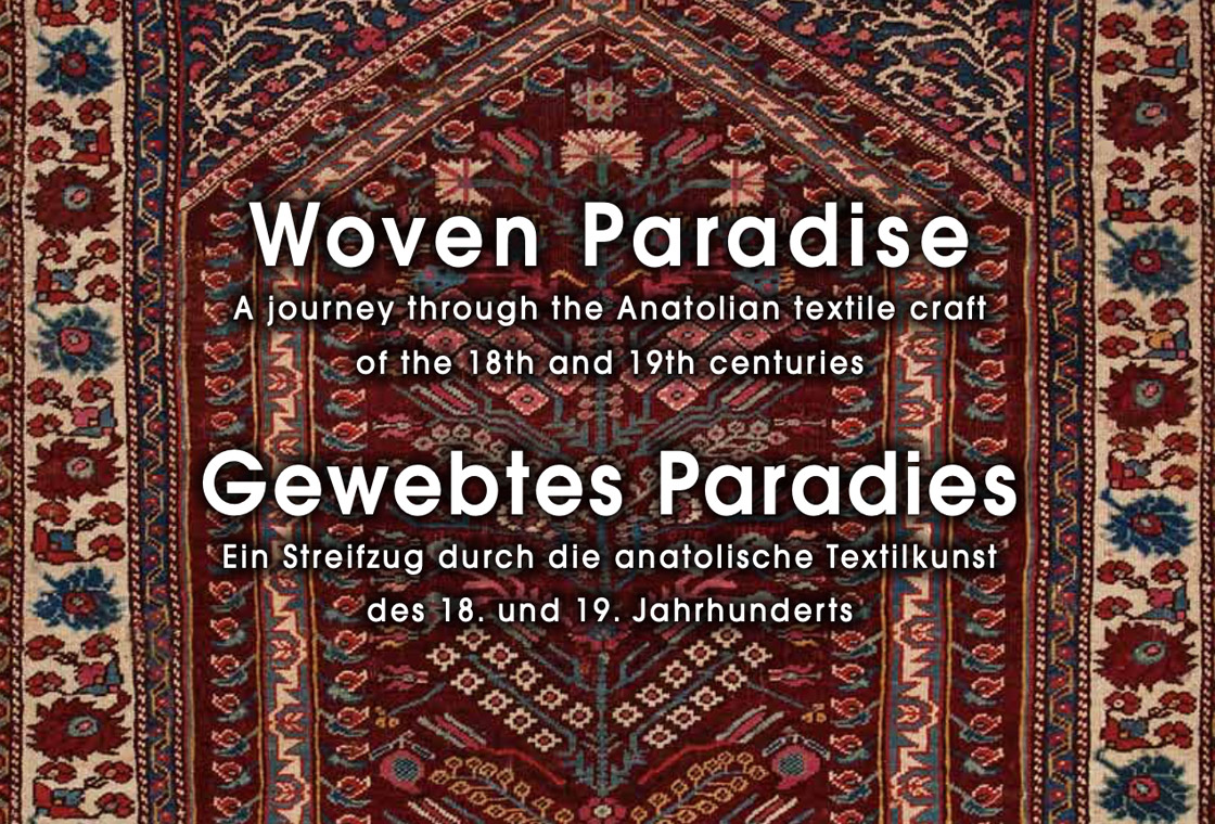 front Page of the publication Woven Paradise of the Martin Posth collection