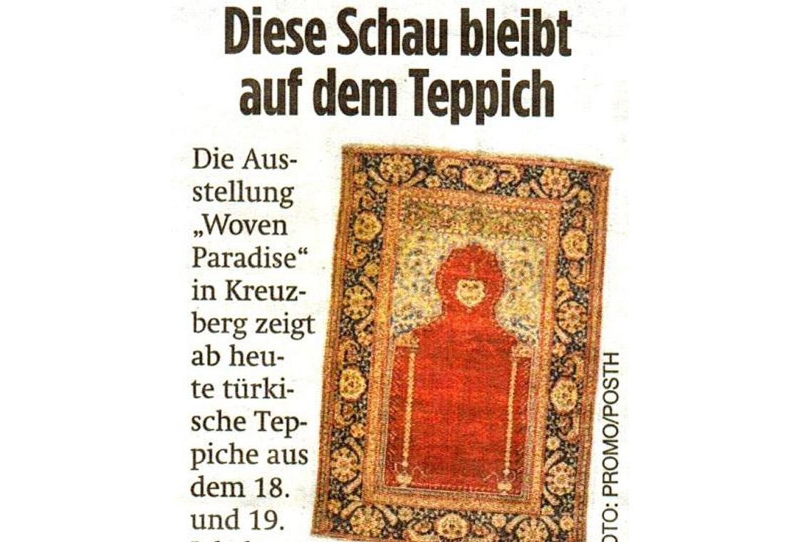 press article of the Berliner Zeitung